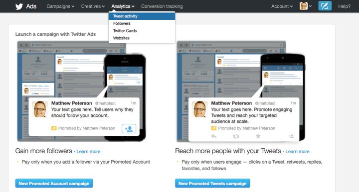 Twitter Advertising - Twitter Stock Drops
